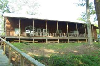 Two Bridges Cabin, 106 County Line Road, Georgetown, GA- Waterfront